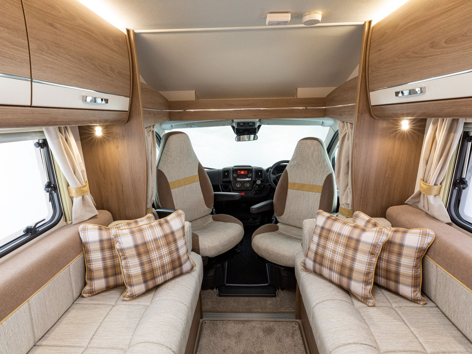 Front lounge and Drivers Cab with ActivCare upholstery