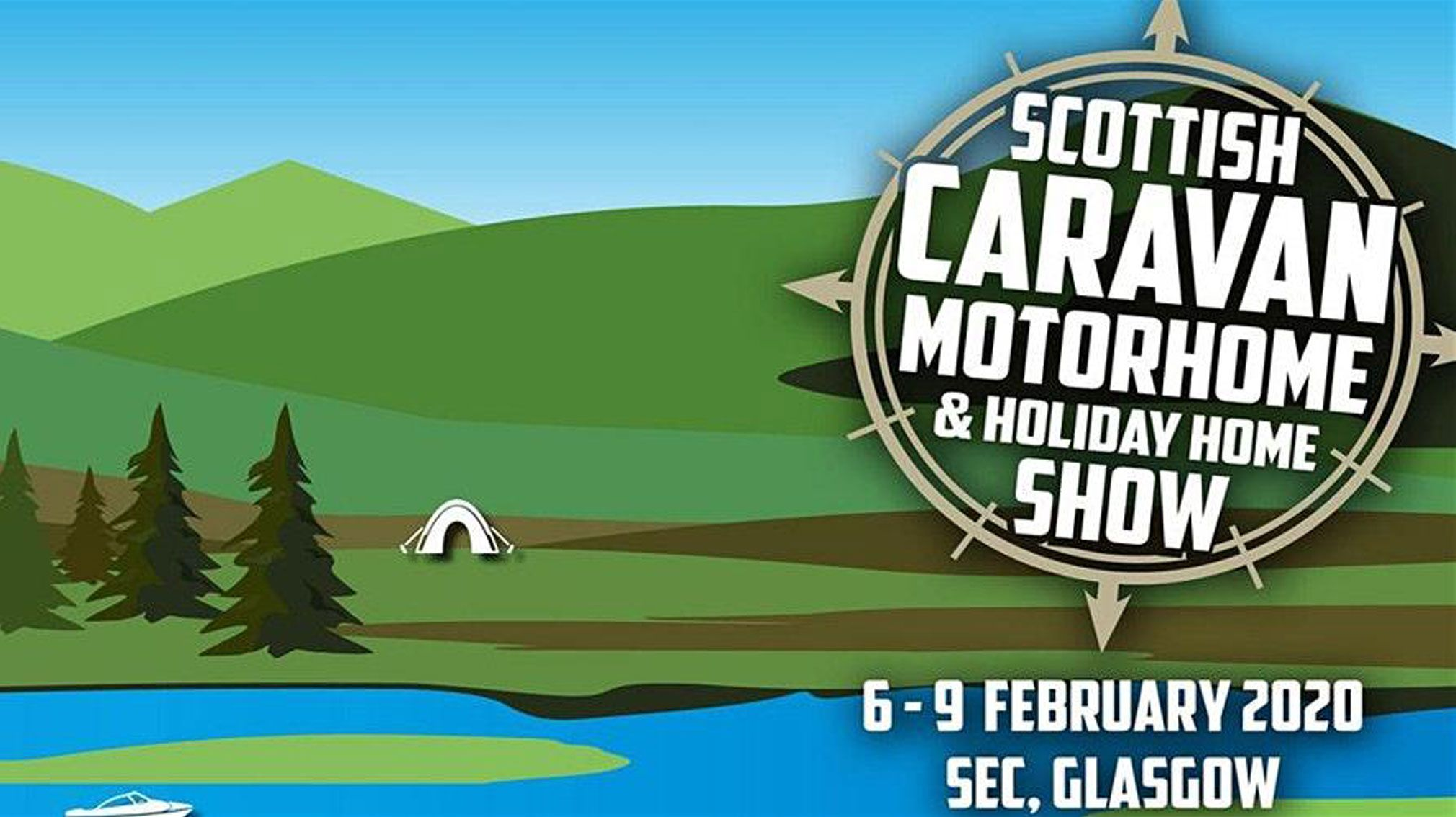 Scottish Caravan Motorhome and Holiday Home Show 2020