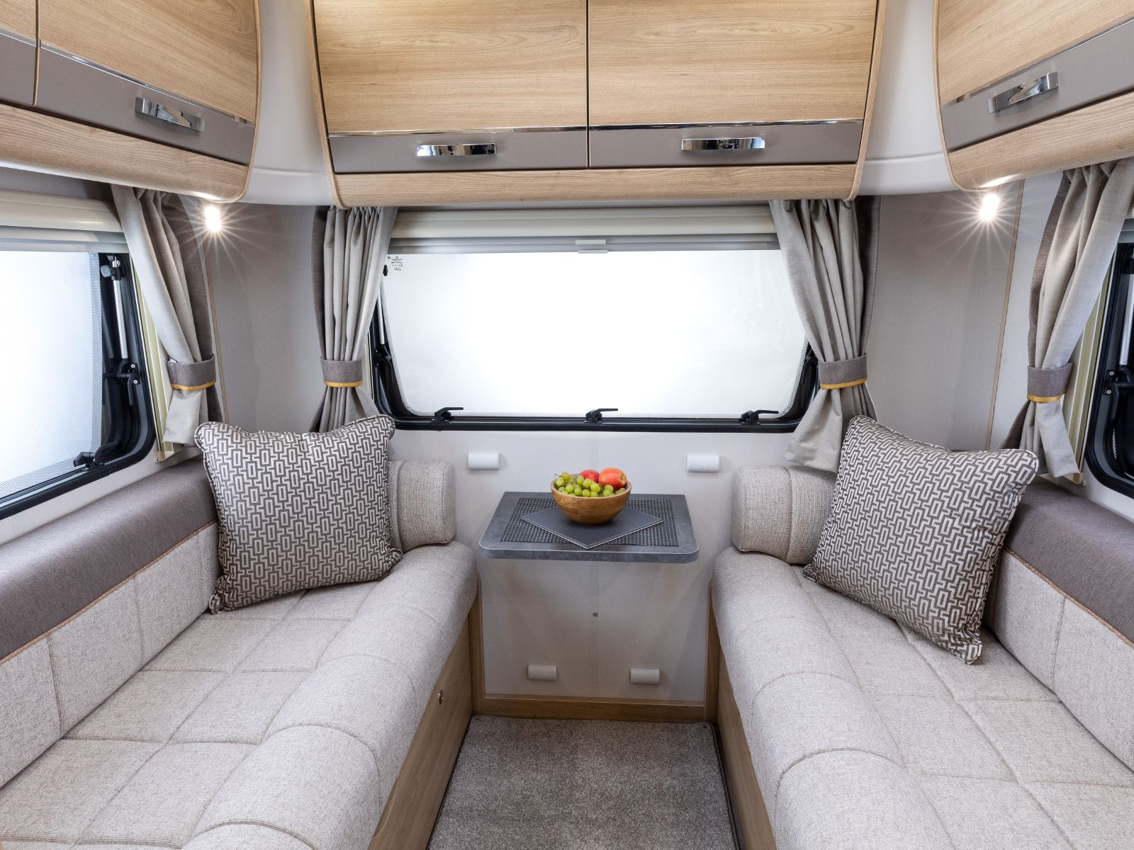 Supreme Motorhome Lounge Seating with Two Sofas'
