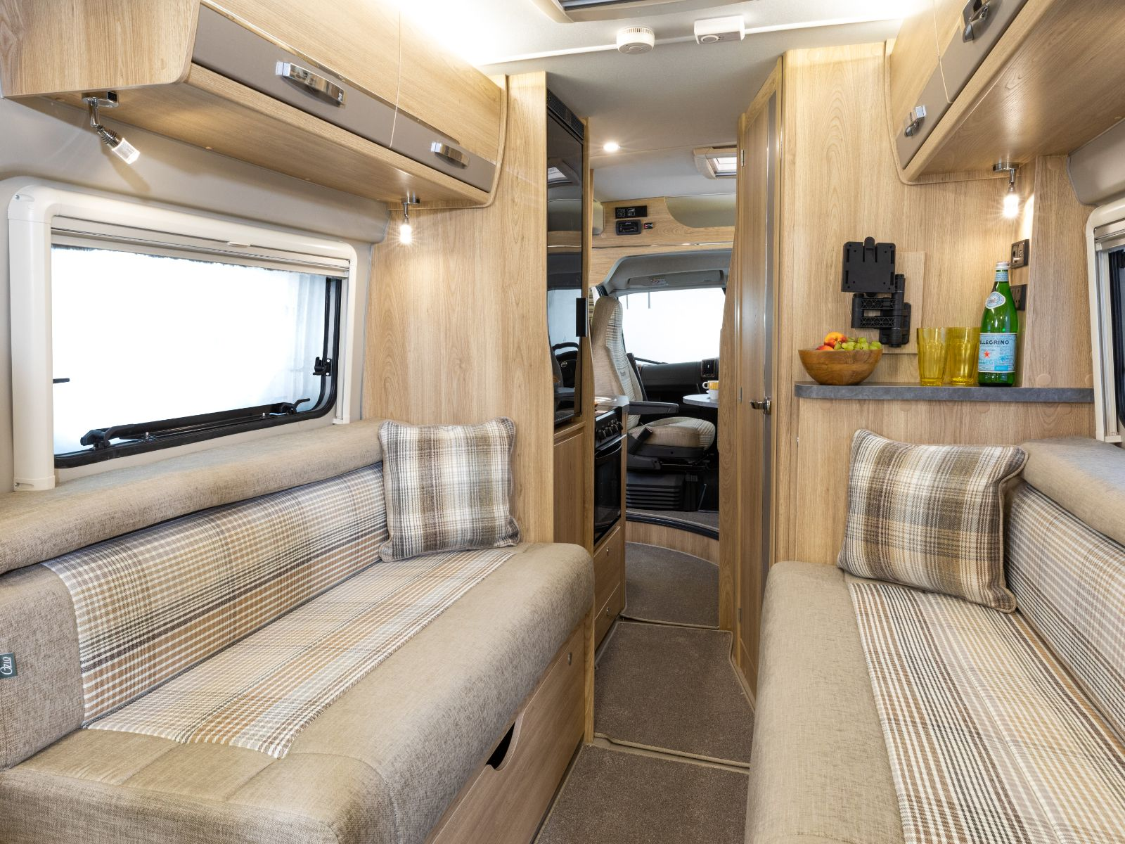 Master Collection Campervan Lounge Area'