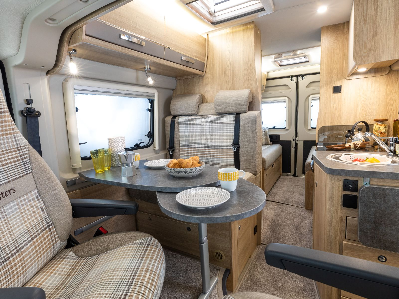 Master Collection Campervan Dining Area'
