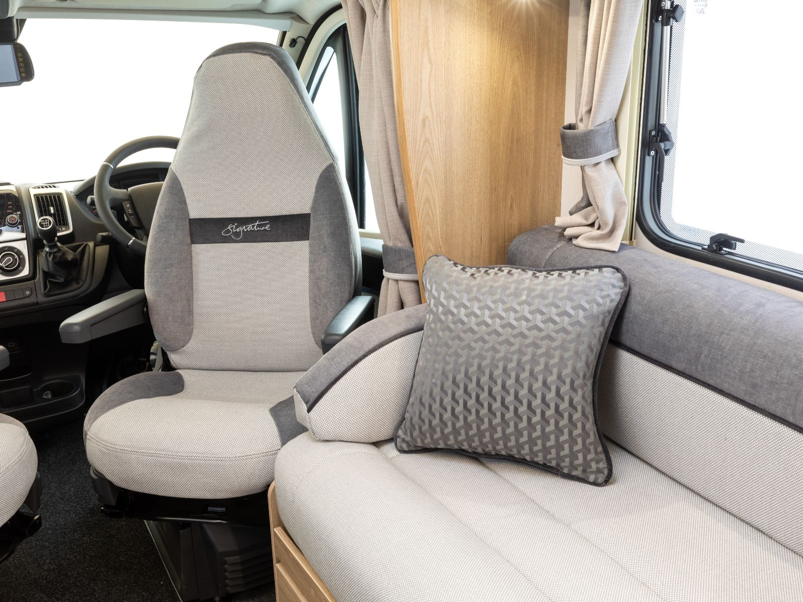 Signature 155 Cab Seating'