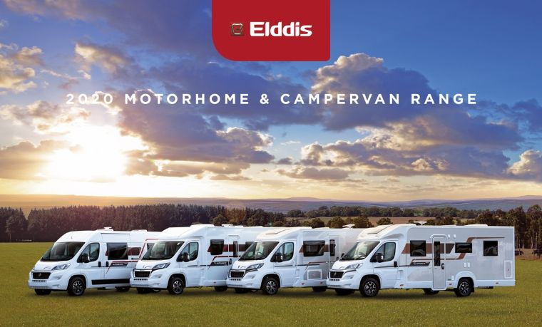 Elddis motorhome and campervan brochure