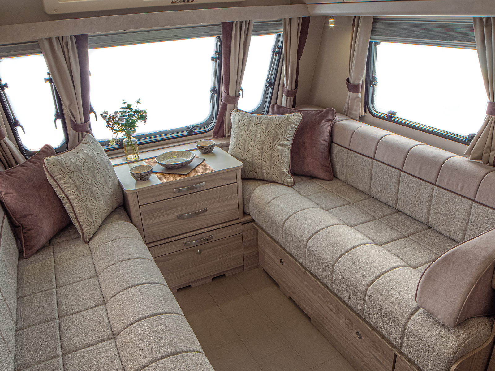 Osprey Caravan Lounge with ActivCare upholstery '