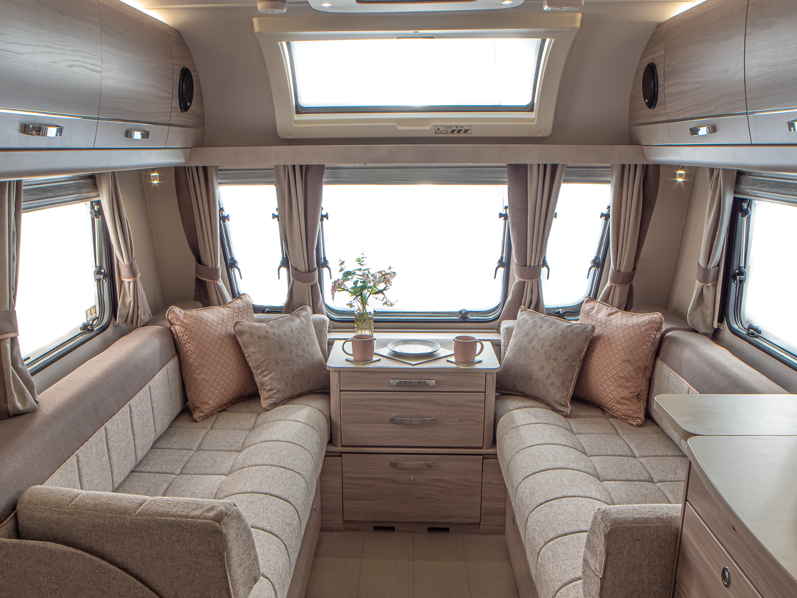 Surpeme Caravan Lounge with ActivCare Upholstery '