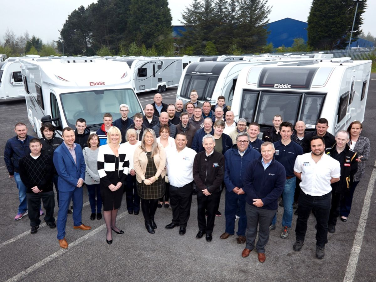 Erwin Hymer Group North East Team