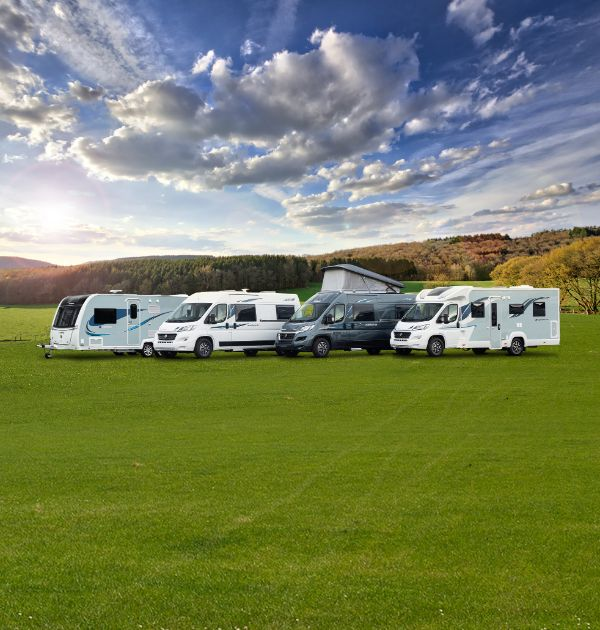 Compass Camino Caravan, Avantgarde CV, and Avantgarde Motorhome